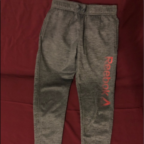 reebok grey sweatpants